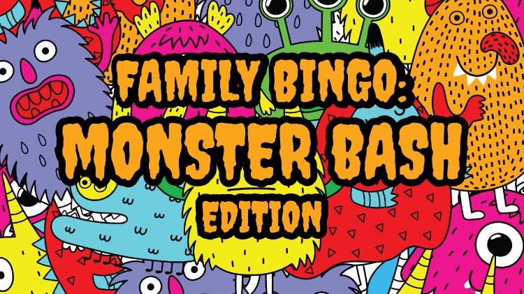Family Bingo: Monster Bash Edition