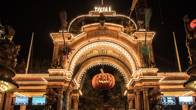 Halloween at Tivoli Gardens - Copenhagen Express