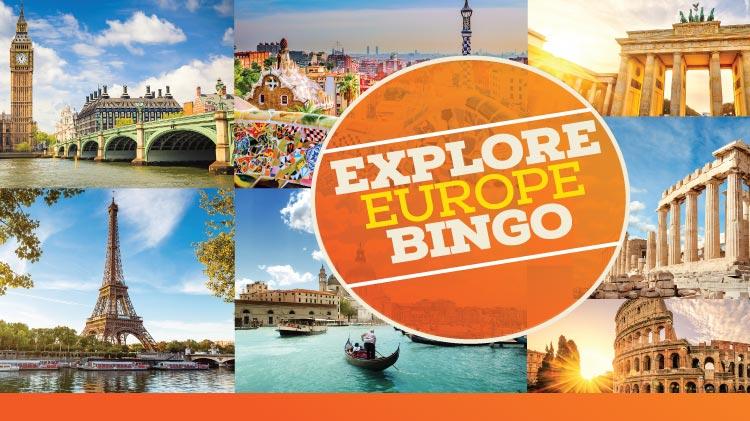 Explore Europe Bingo