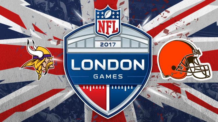 NFL in London - Vikings vs. Browns