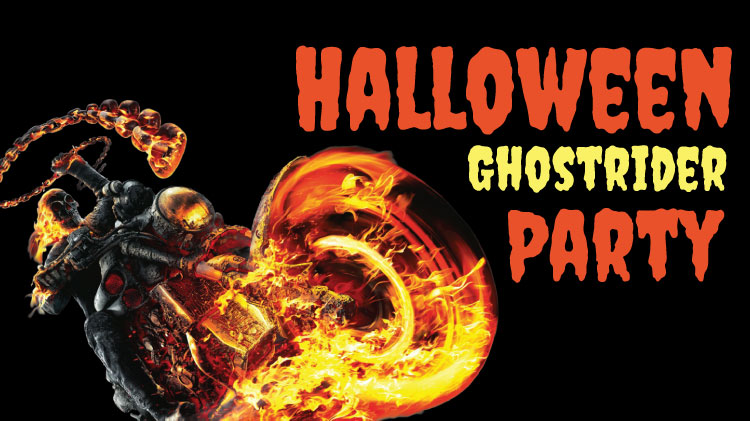 Halloween Ghostrider Party