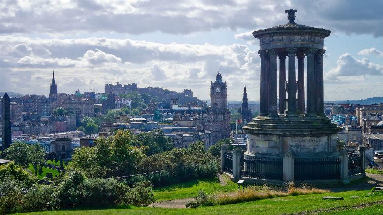 Cruise to Edinburgh