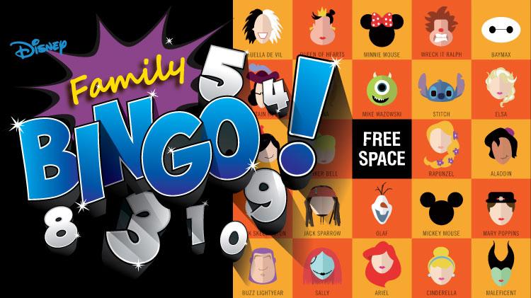 Family Bingo, Disney Christmas Edition