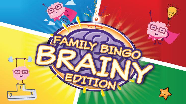 Family Bingo - Brainy Edition