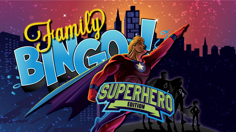 Family Bingo, Superhero Edition