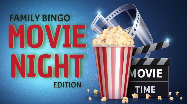 Family Bingo: Movie Night Edition