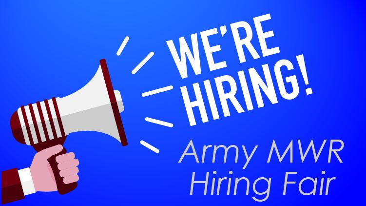 Army MWR Hiring Fair