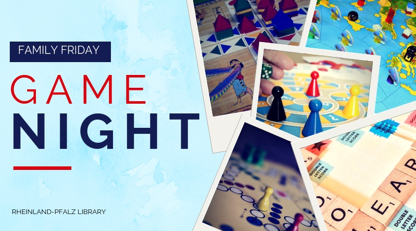 Fourth Friday Family Game Night