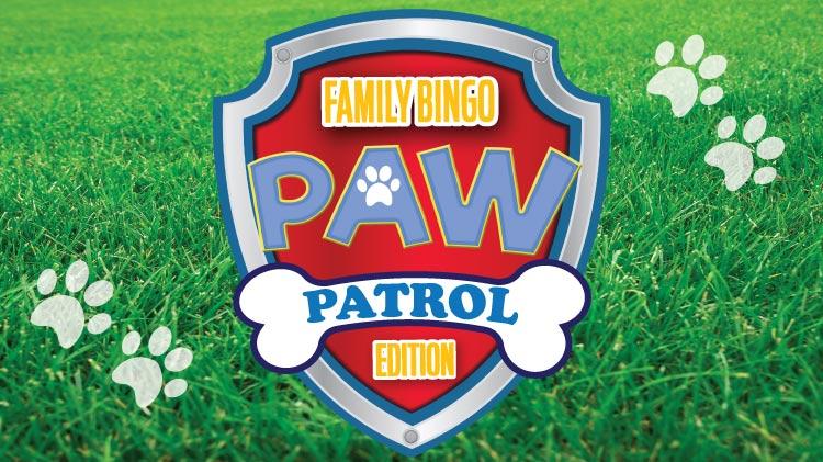 Family Bingo: Paw Patrol Edition