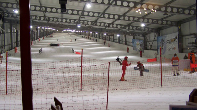 Indoor Ski and Snowboard Lessons