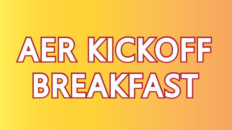 AER Kickoff Breakfast