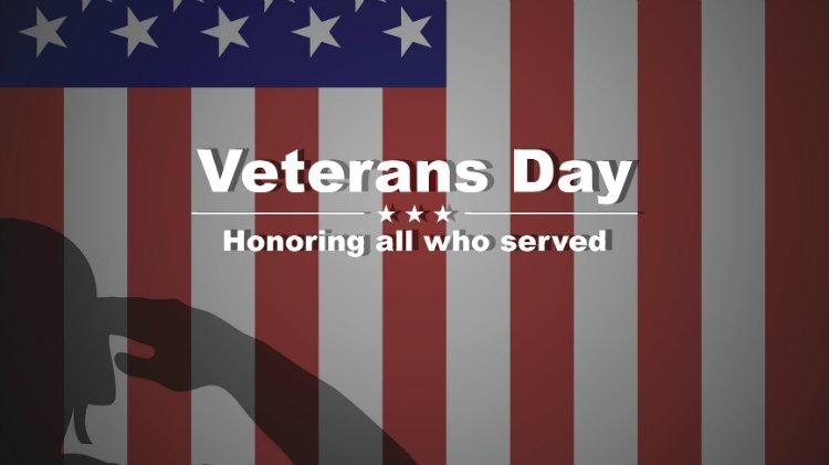 Veteran's Day Weekend
