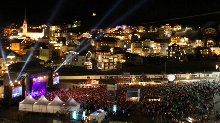 Ischgl Ski Weekend and Top of the Mountain Concert