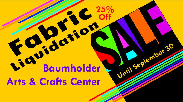 Fabric Liquidation Sale