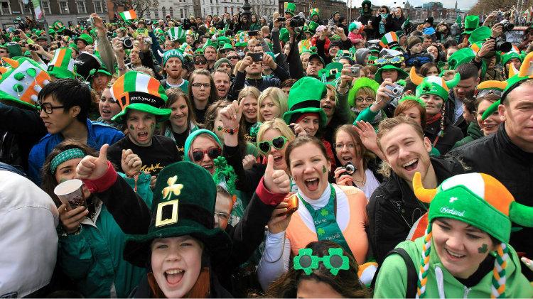 Paddy's Day in Dublin