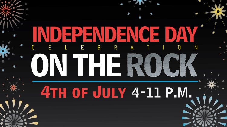 Independence Day on the Rock