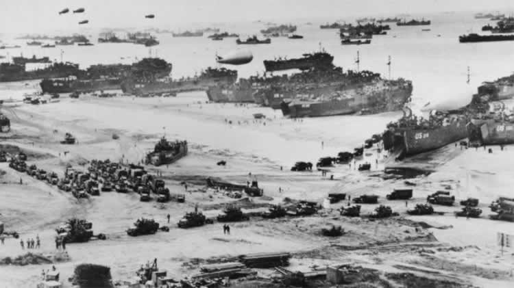 Normandy and Omaha Beach