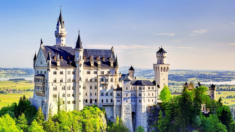 Bavarian Fairytale Castles