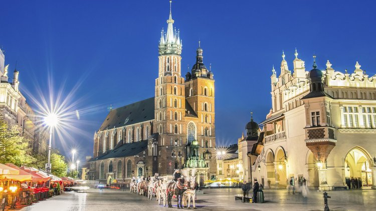 Krakow and Auschitz, Poland