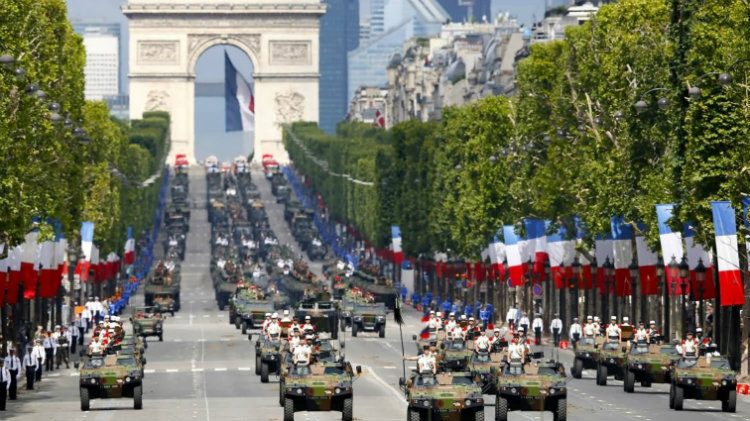 Bastille Day Weekend in Paris
