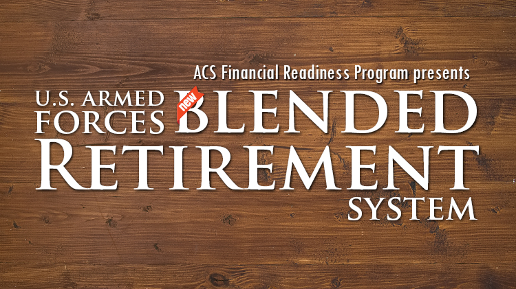 Advanced Blended Retirement System Training