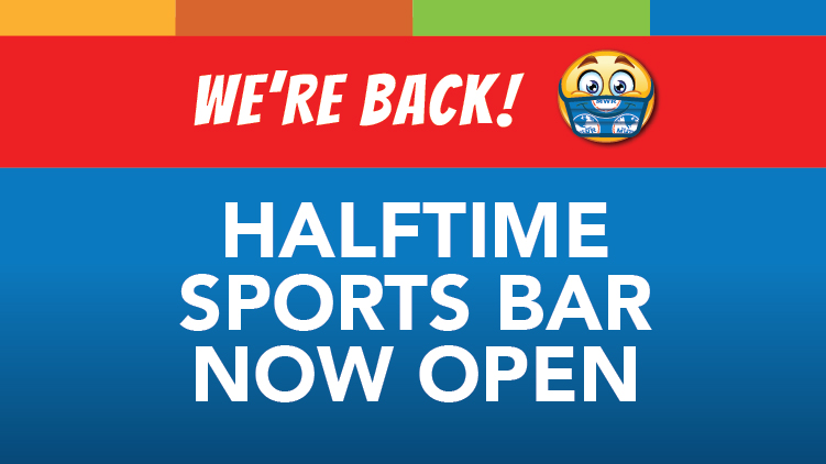 Halftime Sports Bar Now Open