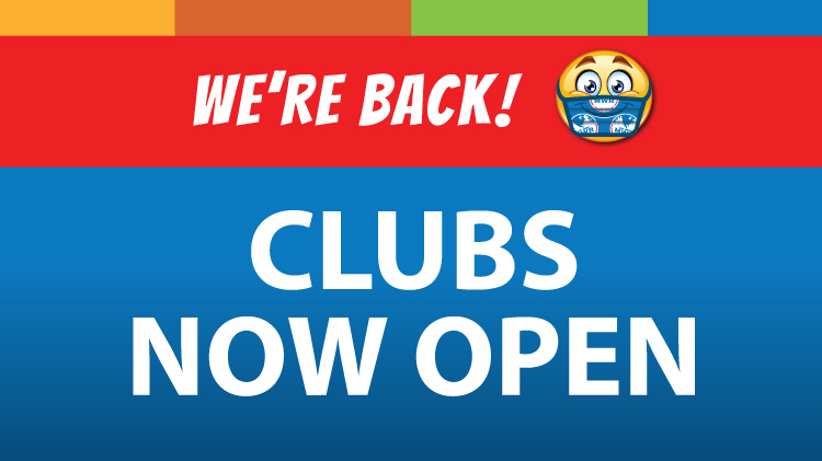 We're Back-Clubs