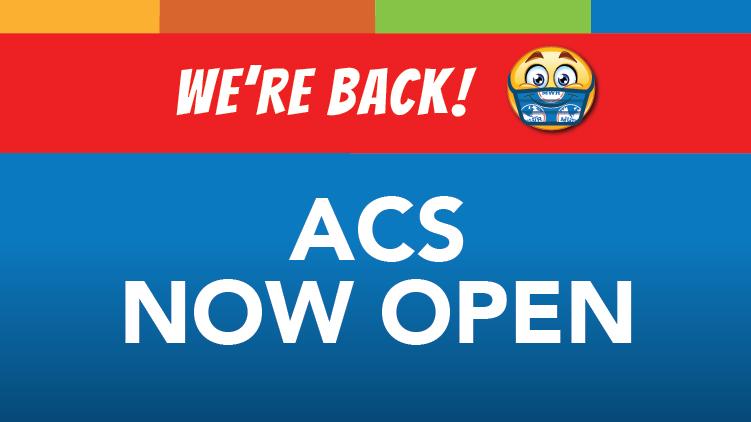 ACS Now Open
