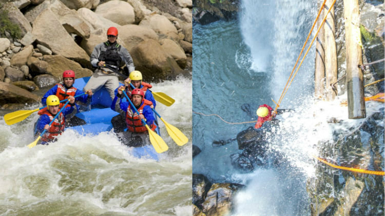 Whitewater Rafting and Canyoning