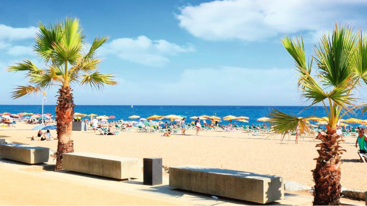 Sun and Sand - Santa Susanna, Spain